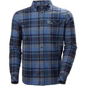 Helly Hansen Classic Check LS Shirt Men, marine blue